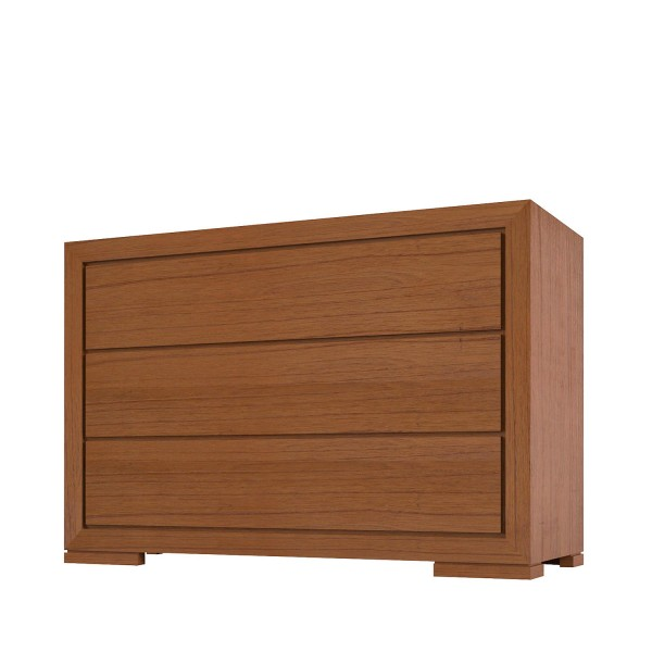 3 DRAWERS CHEST