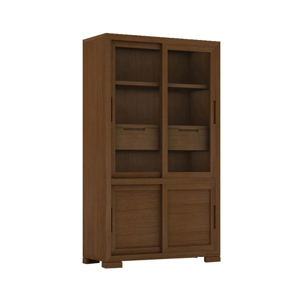 LARGE CUPBOARD WOODEN SLIDING DOORS