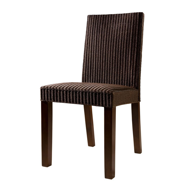 BROWN LOOM CHAIR