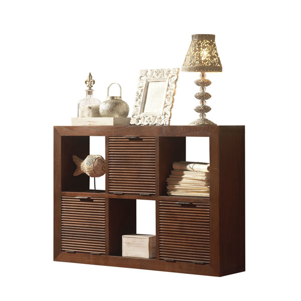JAIPUR WAVES HANG SHELF 6 DRAWERS