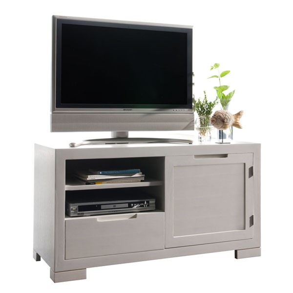 SMALL WOODEN TV TABLE