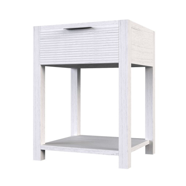 ENTRYWAY - WAVES SIDE TABLE 1 SHELF
