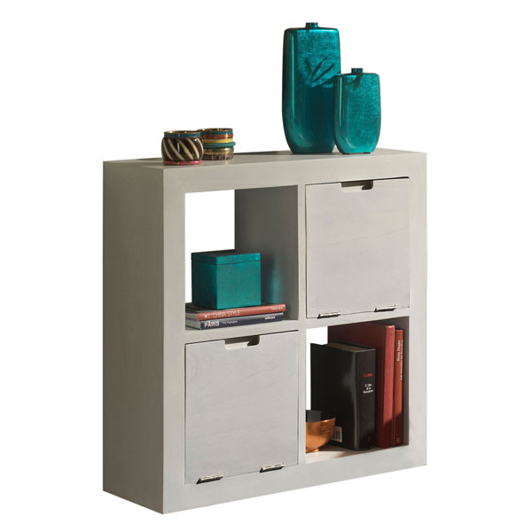 KITCHEN & DINNING - JAIPUR PLAIN HANG SHELF 4 DRAWERS