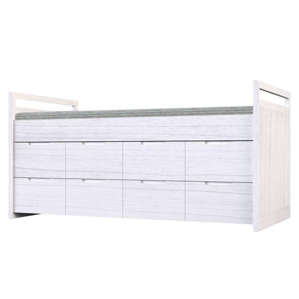 PLAIN COMPACT BED WITH DRAWERS
