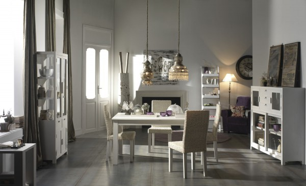 LIVING ROOM - EXTENSIBLE TABLE 190/250