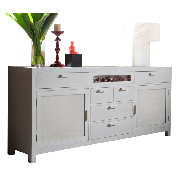 LARGE WOODEN CREDENZA 200