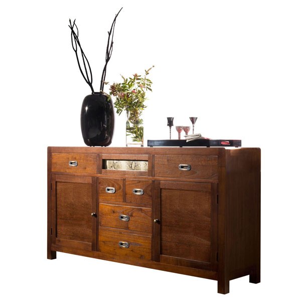 LARGE WOODEN CREDENZA 160