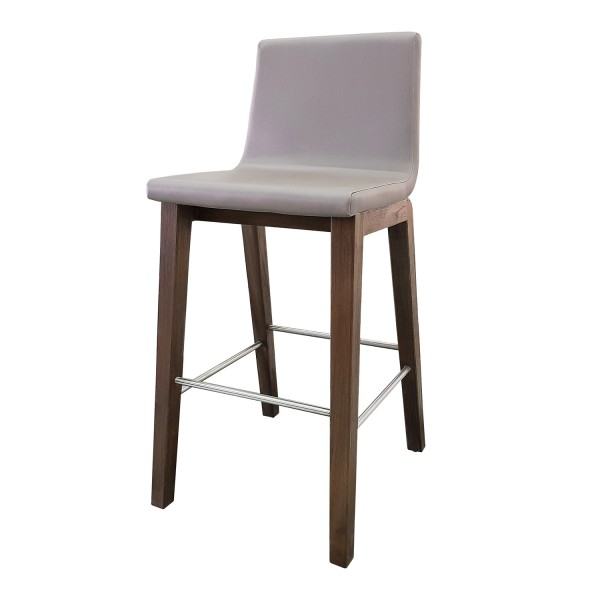BARSTOOL ECOLEATHER BACK