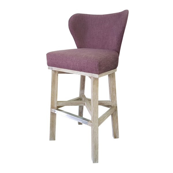 BARSTOOL WITH HIGH BACK