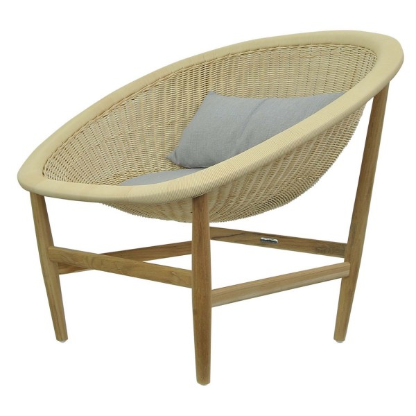 NATURAL BASKET CHAIR INDOOR