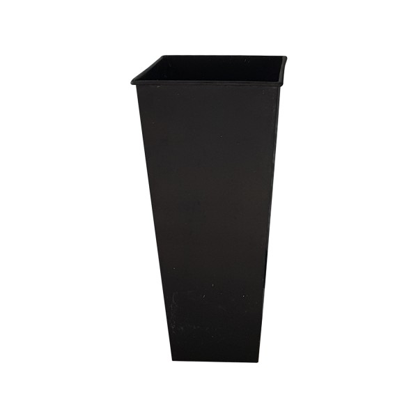 BLACK SQUARE VASE SMALL