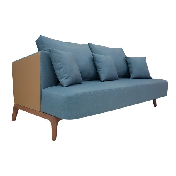ENTRYWAY - BLUE LOUNGE SOFA 2 SEATERS