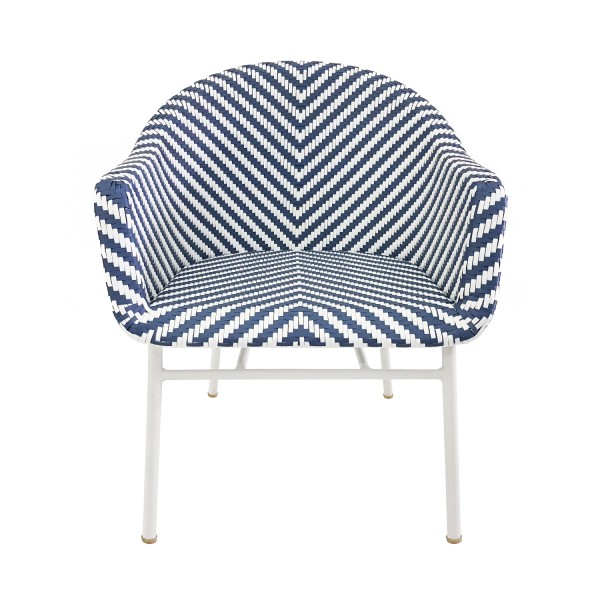 BLUE WHITE CHAIR