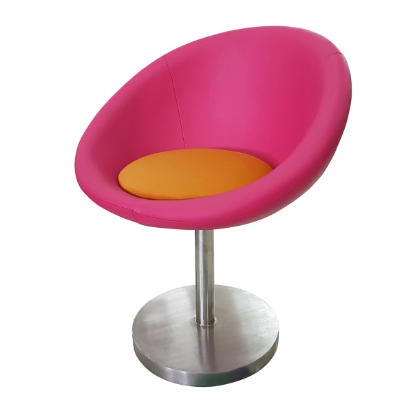 CLUB CHAIR SWIVEL ARMCHAIR