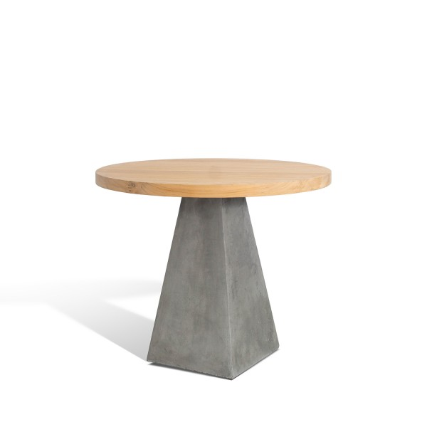 CONCRETE BASE CUSTOM 4 TOP TABLE