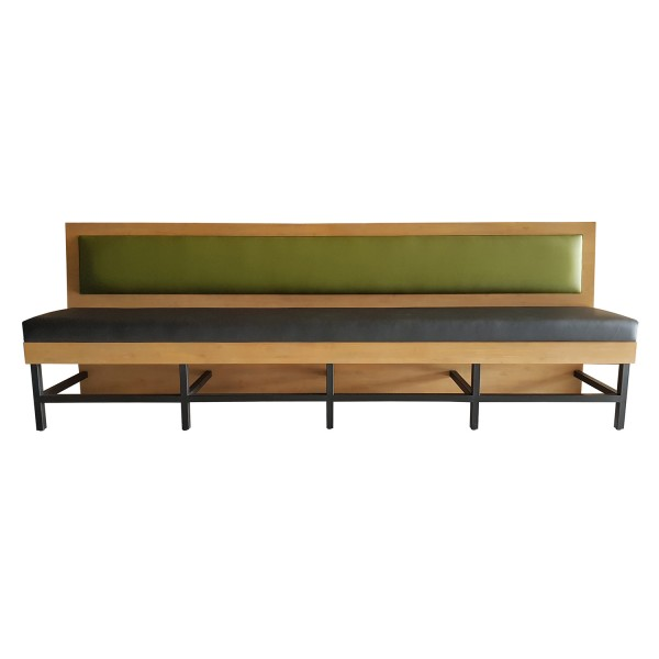 CUSTOM BAR HEIGHT BANQUETTE