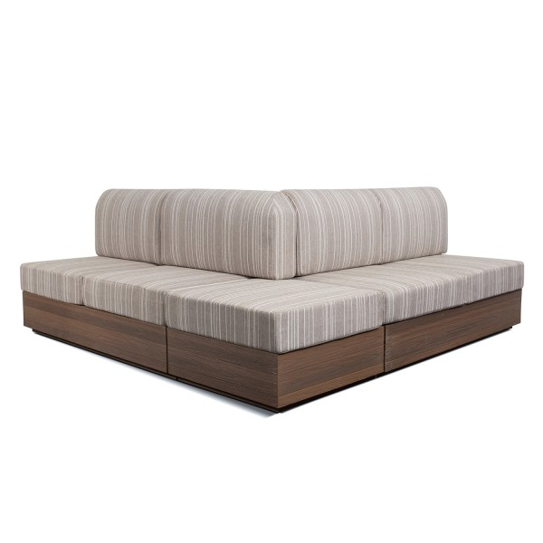 CUSTOM REVERSE L SHAPE SOFA