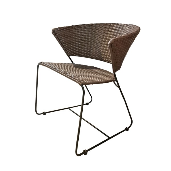 DINING CHAIR SYNTHETIC RATTAN