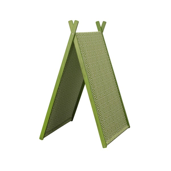 FOLDABLE TEEPEE TENT GREEN