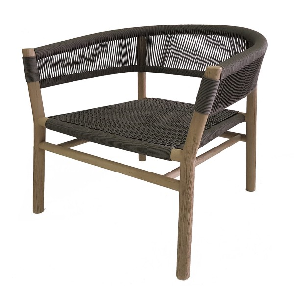 KILT LOUNGE ARMCHAIR WHEATHERED