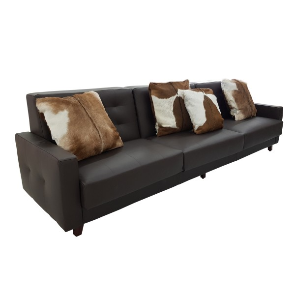 LEATHER SOFA 3 SEATERS
