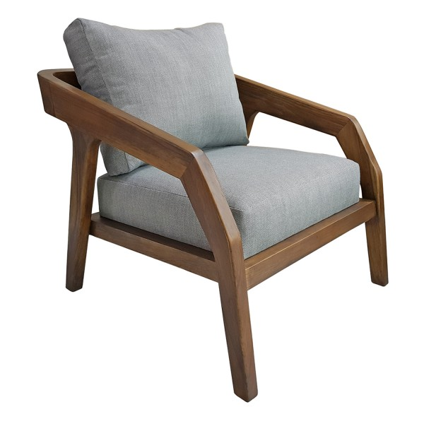 LOUNGE CHAIR WITH ACCENT PILLOW
