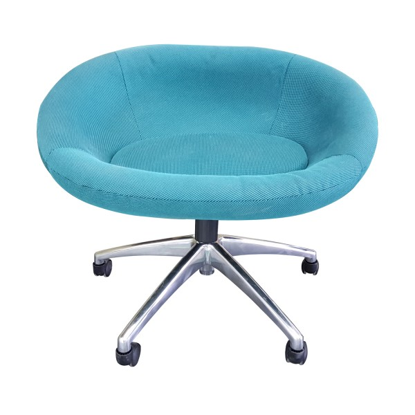 LOUNGE CHAIR WITH UPHOLSTERED SEAT