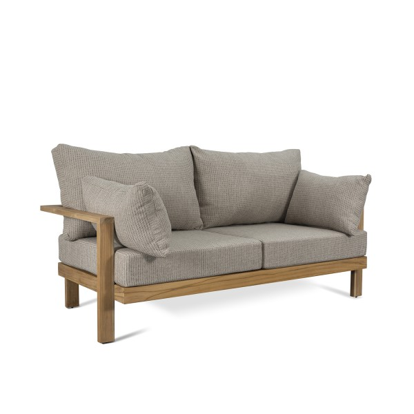 NATURAL SOLID TEAK WOOD SOFA