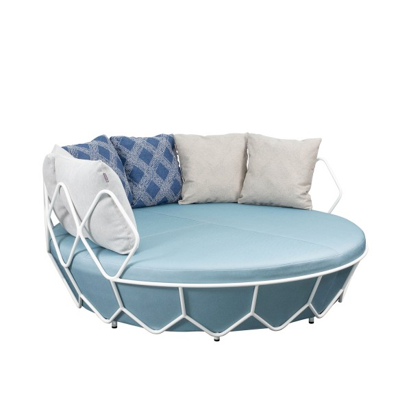 OUTDOOR ROUND DAYBED