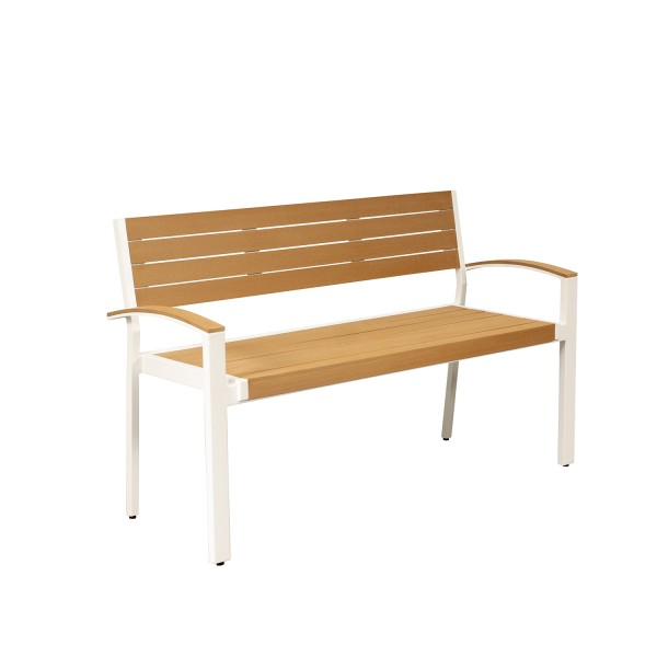 OUTDOOR BENCH WITH ARM