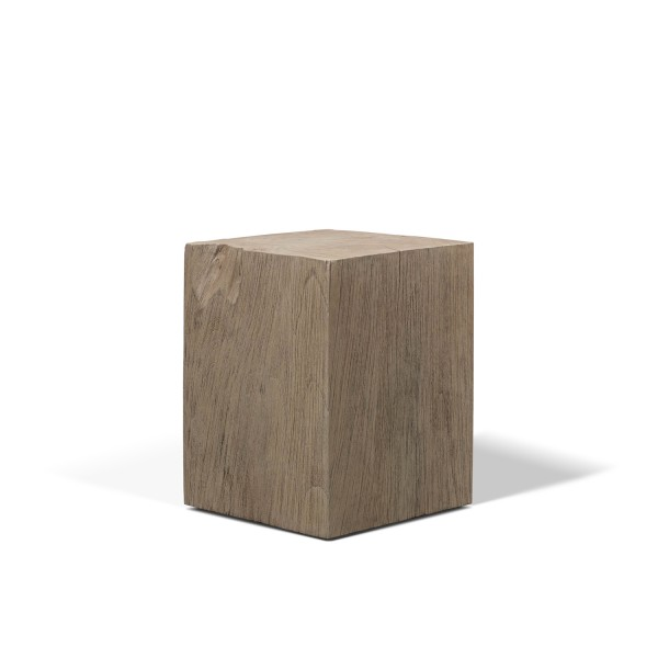 OUTDOOR TEAK WOOD STOOL