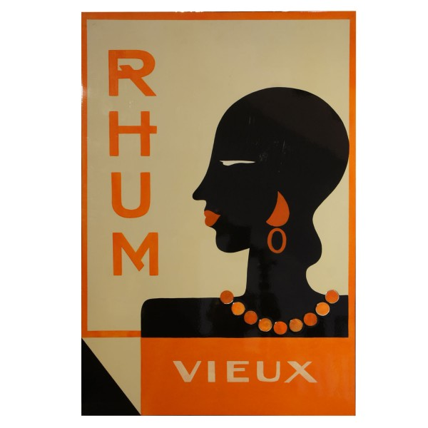 PAINTING LAQUERED  RHUM CHICA