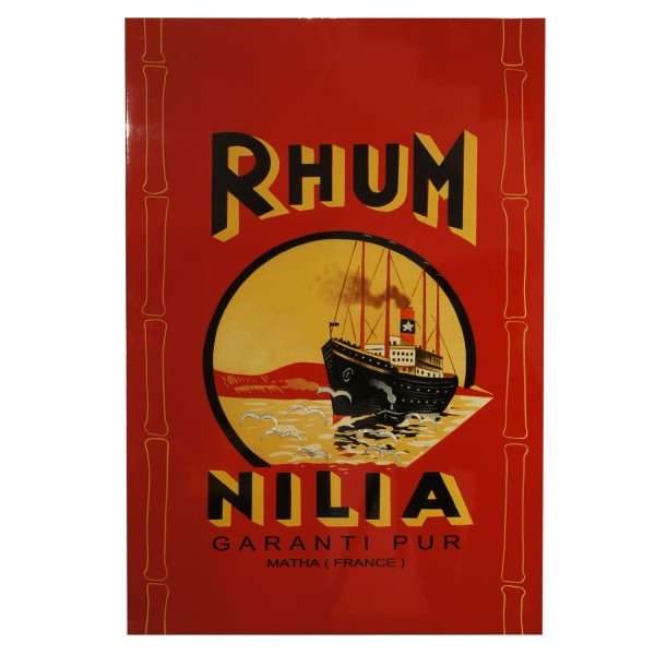 BEDROOM - PAINTING LAQUERED RHUM NILIA