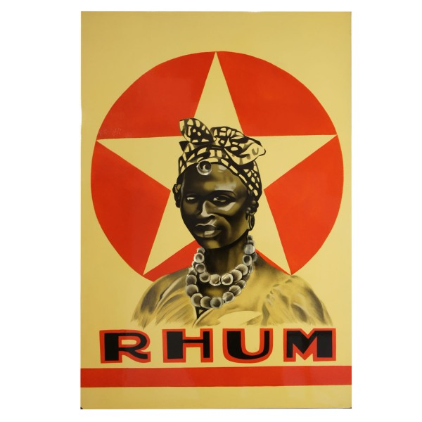 PAINTING LAQUERED  RHUM STAR