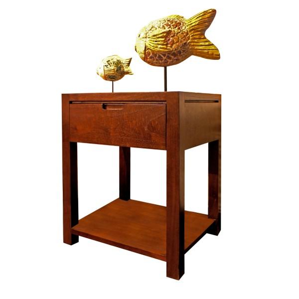 PLAIN SIDE TABLE 1 SHELF