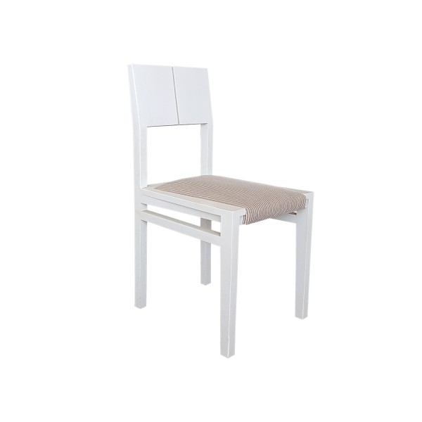 PLAIN TAPIZ CHAIR WHITE