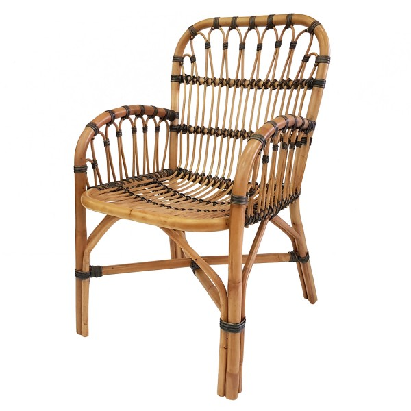 PLANTATION GROWN RATTAN DINING CHAIR