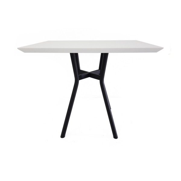 RECTANGULAR DINING TABLE WHITE
