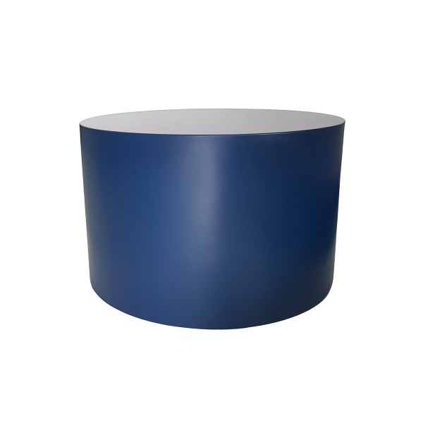 ROUND BLUE COCKTAIL TABLE