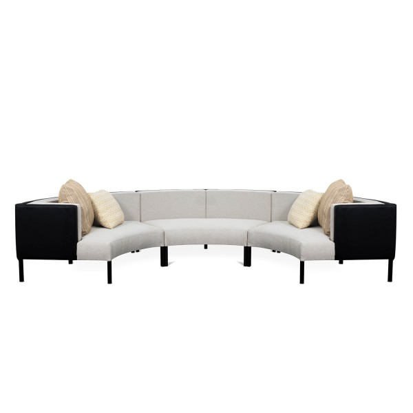 ROUND SOFA WITH BACKREST