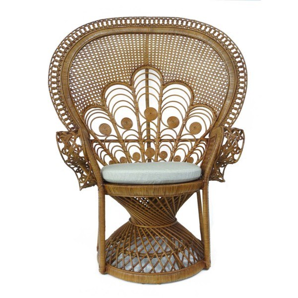 MALDIVES-PEACOCK ARMCHAIR