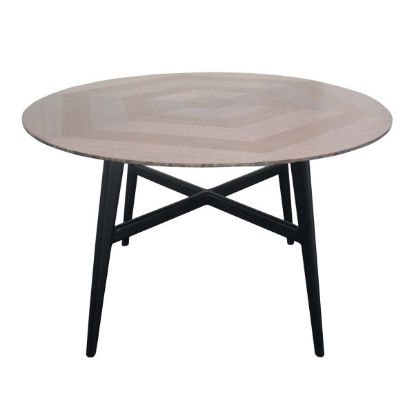 ROUND DINING TABLE HEXAGON D