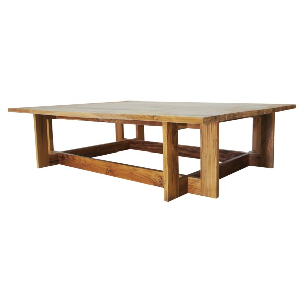 SKYLINE-RECTA COFFEE TABLE TEAK