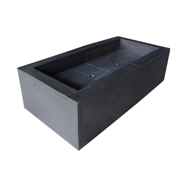 SKYLINE-RECTANGULAR FIREPIT
