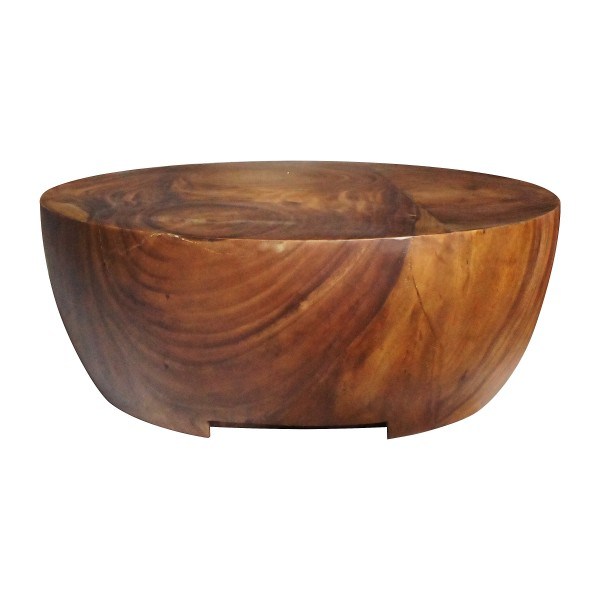 SKYLINE-ROUND COFFEE TABLE SOLID