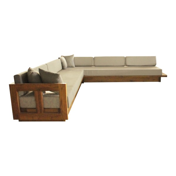 SKYLINE-SOFA L INTEGRATED TABLE LARGE