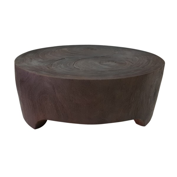SOLID BROWN COFFEE TABLE