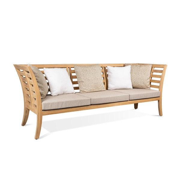 SOLID TEAK WOOD OUTDOOR BENCH