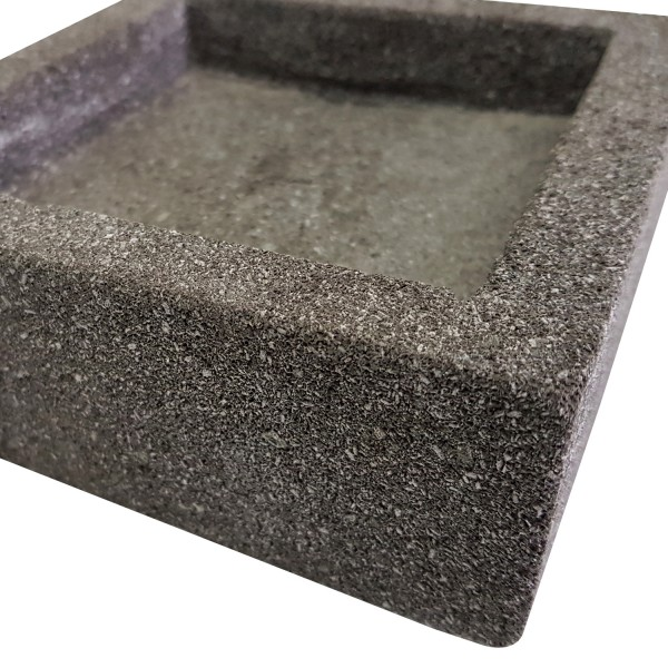 SQUARE CONCRETE TRAY