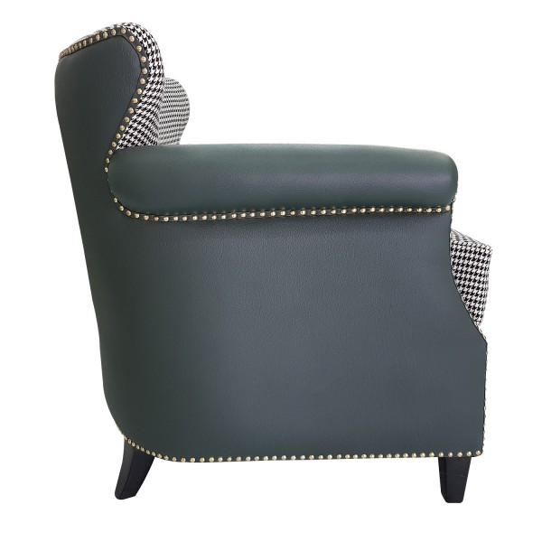 ENTRYWAY - UPHOLSTERED BARREL BACK CHAIR